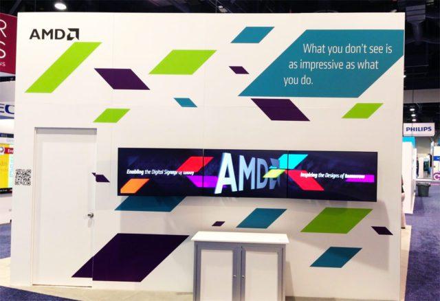 AMD booth