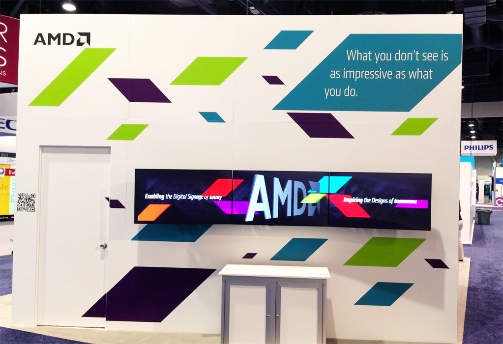AMD booth