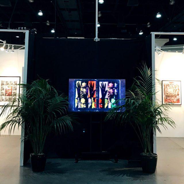 LA Art Show Dan Eldon Exhibit