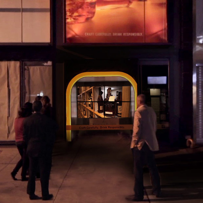 Woodford Reserve SoHo Video Wall