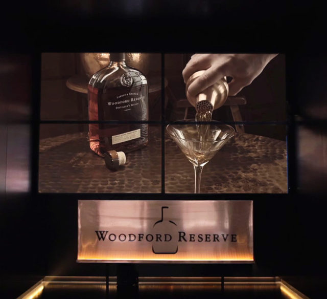 Woodford Reserve Video Wall