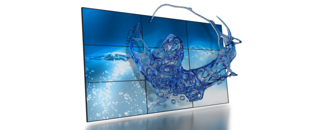 Glasses-free 3D video walls
